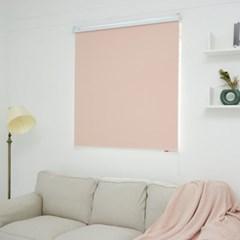 클래식 암막 롤 블라인드(핑크)
