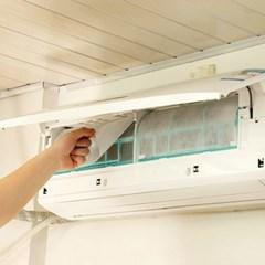 벽걸이에어컨공기청정필터2p