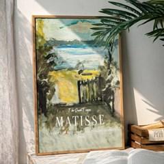 Matisse 10종 시냑의 스튜디오 입구