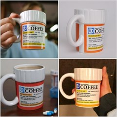 커피 처방전 머그컵 커피잔 12oz