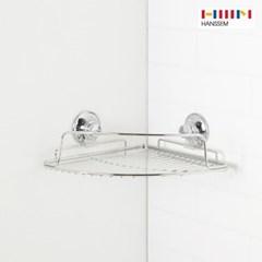 [한샘몰X모던파워락] 코너 선반 - 화장실거치대 욕실정리함