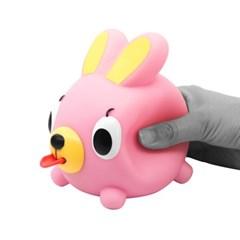 자버볼 토끼 핑크