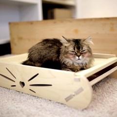 엉클펫 자작나무 반려동물 고양이 강아지 해먹 침대
