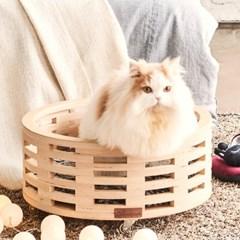 고양이강아지 원목 하우스