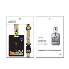 [디오플러스] 네임택, 러기지택, 가방 이름표, 캐리어택