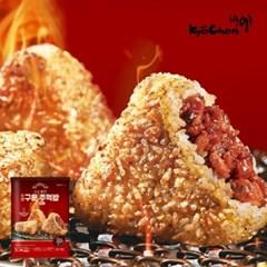 [교촌] 구운주먹밥 매운치킨 5개입 (500g) 1+1