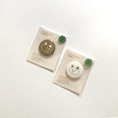 Shiba pin button