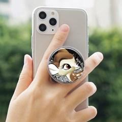 디즈니 밤비 글리터 스마트톡 스마트폰 홀더 거치대/폰 거치