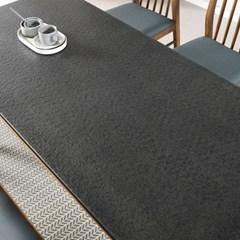 [데코마인] 볼린 화산석 6인용 원목식탁세트