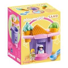 플레이모빌 1.2.3 모래놀이 아이스크림 가게(9406)