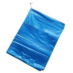 청색 평판 비닐봉투 50매/50리터 야채봉투 쓰레기봉투