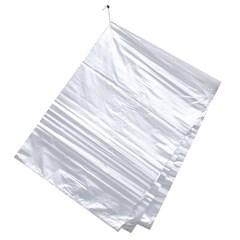 100매 평판 비닐봉투(흰색)/30L 야채봉투 쓰레기봉투