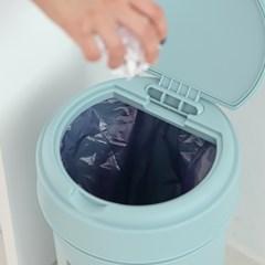 00 스윙 화장실 인테리어 휴지통 20L 종량제 쓰레기통_(2341798)