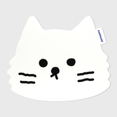 Awesome cat-white(마우스패드)_(1632504)