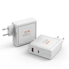 주파집 USB PD 퀵차지 아이폰 C타입 멀티 듀얼 고속충전_(1701346)