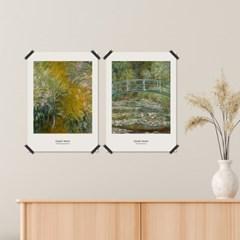 클로드 모네 1 명화 인테리어 아트 포스터 15종