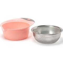 퀸센스 멀티 믹싱볼 24cm 핑크_(3563221)