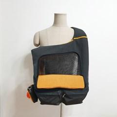 건강한 이동가방 케어백 - 옐로우 그레이