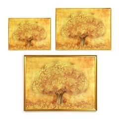 돈을 부르는 인테리어 액자 리치리치 황금돈나무 (소) 39x29