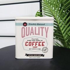틴케이스 커피 보관 정리함