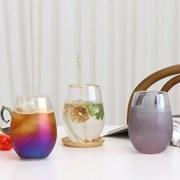 홈카페 오로라 하이볼 유리컵