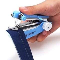 휴대용 핸드미싱(스카이)/ 바느질 미니재봉틀