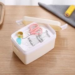 2단박스 반짇고리 7종세트 / 휴대용 바느질세트
