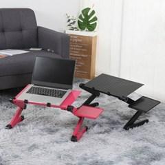 커브존 3단 조절 접이식 노트북 테이블 배드 좌식