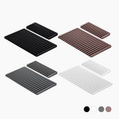 [리본제이]항균 워터플로우 실리콘 드라잉매트 Mini+Big 세트