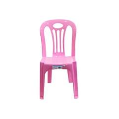 솔리드 어린이 등받이 의자 플라스틱 간이의자 보조의자 유치원의자