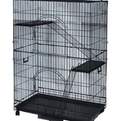 브리더 블랙 2단 고양이장(CP-3W-1)