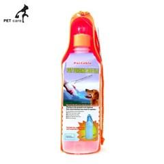 엠펫 휴대용 물병 500ml (오렌지)
