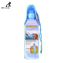 엠펫 휴대용 물병 500ml (블루)