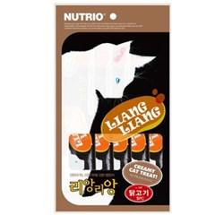 리앙리앙 고양이 츄르 습식 간식 닭고기 5P
