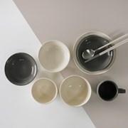무스 1인 식기세트 B 7p 2color 선택