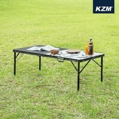 카즈미 유니온 아이언메쉬 캐비닛 2폴딩 테이블 K20T3U004 / 접이식