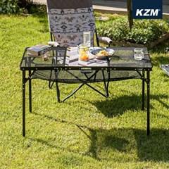 카즈미 유니온 아이언메쉬 3폴딩 테이블 K20T3U005 / 캠핑테이블