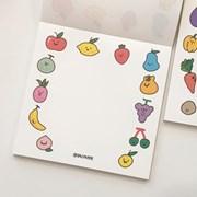 [달페이퍼] 과일야채 2종 메모패드