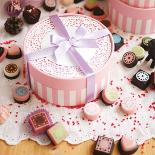 핑크 도일리 초콜릿 만들기세트