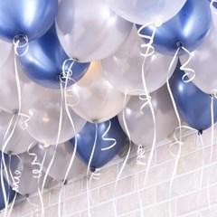 천장장식 펄풍선(헬륨효과)세트-글루미