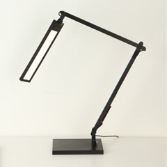 3단 밝기조절 원판/클램프겸용 LED스탠드 ICLE-15711
