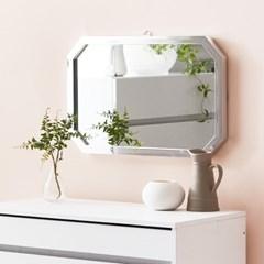 채우리 프레시티지 인테리어 화장대 직팔각 거울 (중)