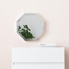 채우리 프레시티지 인테리어 화장대 정팔각 거울 (미니)