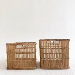 tio(티오) 라탄 바스켓 바구니 대나무