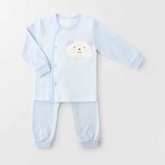 [메르베] M곰돌이 아기 돌선물세트(내의+수면조끼)_사계_(1492412)