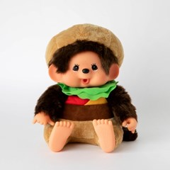 M's BURGER Monchhichi Super Soft L