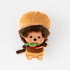 M's BURGER Monchhichi Big Head S Bean-Bag