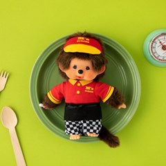 M's BURGER Monchhichi Shop Staff Boy S