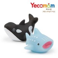 [예꼬맘] 유아 LED 물놀이 장난감 2종세트
