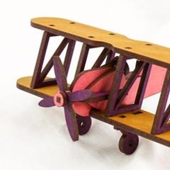 라이트형제 비행기만들기 복엽기 나무비행기